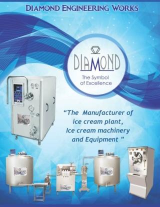 Ice Cream Plant / Softy Machine Manufacturer (Catalouge) | Diamond Engineering Works