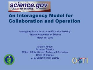 An Interagency Model for Collaboration and Operation