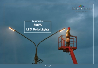 Which Is The Best Outdoor commercial LED Pole Lights In USA?