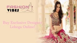 Designer Lehenga USA || FashionVibes