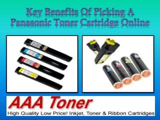 Key Benefits Of Picking A Panasonic Toner Cartridge Online