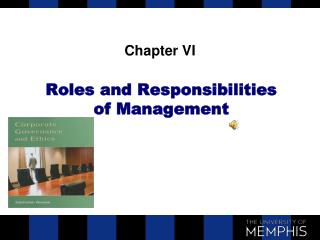 Roles and Responsibilities of Management
