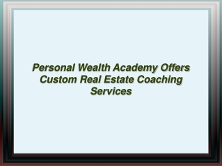 Personal Wealth Academy