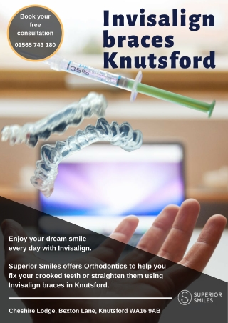 Invisalign braces Knutsford