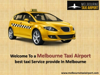 How To Book Taxi For Melbourne Airport