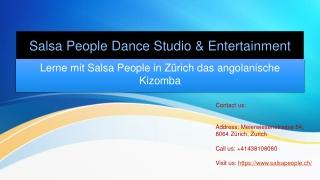 Lerne mit Salsa People in Zürich das angolanische Kizomba