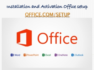 Learn Office com setup Activate and Installation Office setup