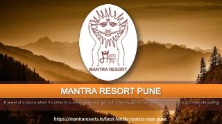 Best Family Resort Near Pune | Family Holiday Trip near Pune