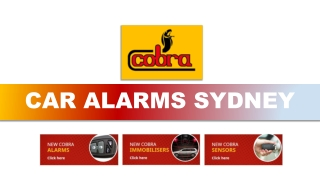 Essential Things That You Must Know Before Purchasing Car Alarms