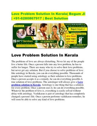love problem solution in kerala