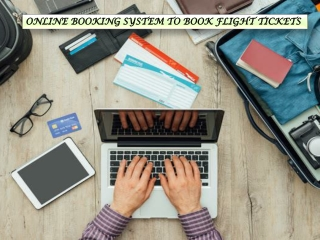 ONLINE BOOKING SYSTEM TO BOOK FLIGHT TICKETS