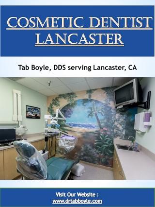 Cosmetic Dentist Lancaster
