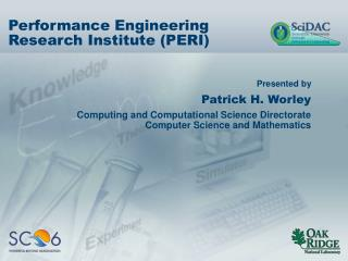 Performance Engineering Research Institute (PERI)