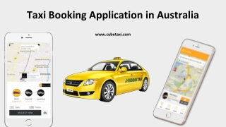 Launch Taxi Booking Application in Australia