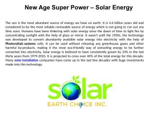 Solar, solar panels, Solar Panel Installation