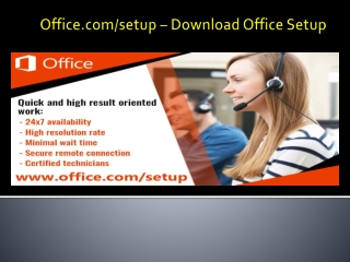 www.office.com/setup | Install office setup and enter product key