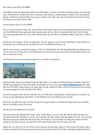 Le Dinh Phong 11 điều cần tìm hiểu