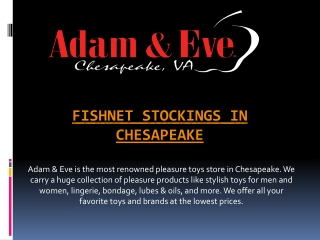Fishnet Stockings in Chesapeake
