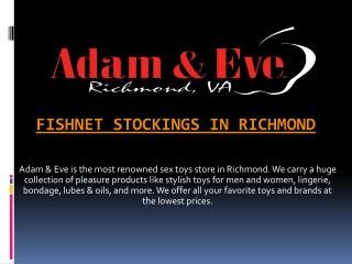 Fishnet Stockings in Richmond