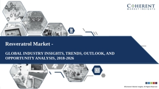 Resveratrol Market - Size, Share, Outlook, and Opportunity Forecast 2018-2026