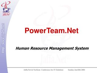 PowerTeam.Net