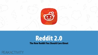 Reddit 2.0 : The New Reddit You Should Care About!