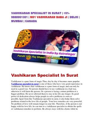 vashikaran specialist in surat