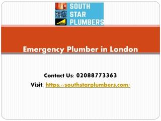 Emergency Plumber in London - Southstarplumbers
