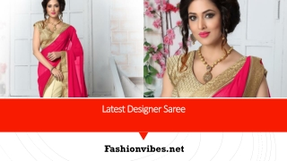 Sarees - Designer Saree, Designer Saree Online for Wedding