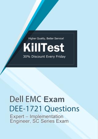 2019 Real DEE-1721 Dell EMC Exam Questions | Killtest