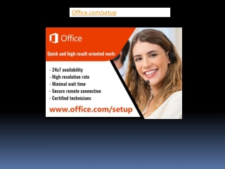 Office Setup | Download and Install Office - office.com/setup