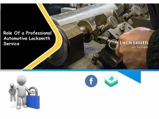 Role Of a Professional Automotive Locksmith Service
