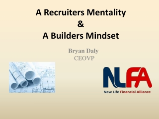 Recruiters mentality builders mindset nlfa