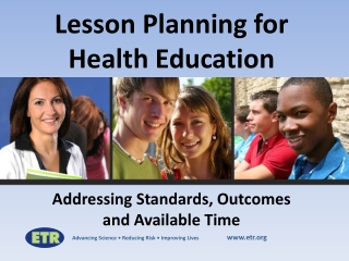 Developing Health Education Programs Health Behavior Change