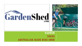 Select a Right Bike Shed, Timber Sheds At Gardenshed.com