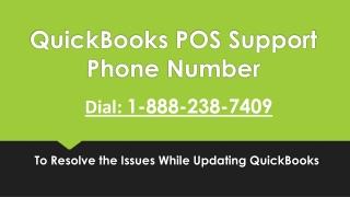 QuickBooks POS Support Phone Number 18882387409