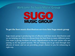 Album Compilation and Video Monetization services