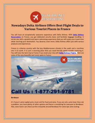 Delta Airlines Phone Number | Delta Airlines Phone Number