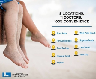 Certified Foot 9 Locations 11 Doctors 100% Convenience
