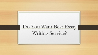 UK - Essay Writing Service