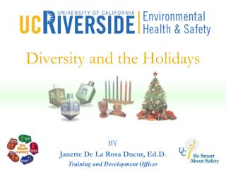 Diversity and the Holidays