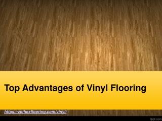 Top Advantages of Vinyl Flooring