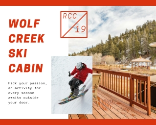 wolf creek ski cabin at River crest cabin