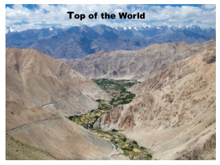 Motorcycle Tours in Ladakh
