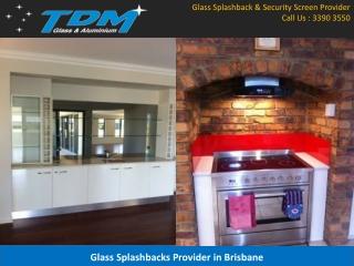 Glass Splashbacks Provider in Brisbane
