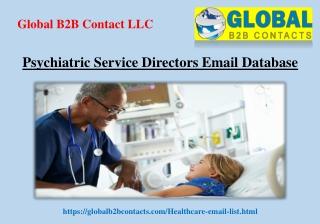 Psychiatric Service Directors Email Database
