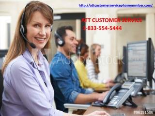Avail Immediate ATT Customer Service To Exterminate Each ATT Issue 1-833-554-5444