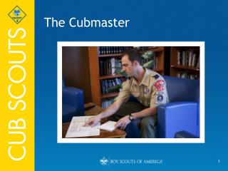 The Cubmaster
