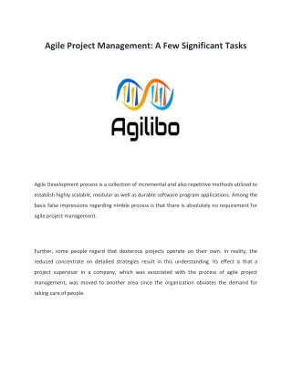 Agile Project Management Training   Scrum Master   Agilibo