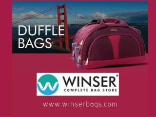 Wholesale Duffle Bags in Kerala | Duffle Bags Online in Kochi